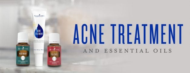 Acne treatment and essential oils